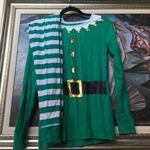 Ladies Elf Jammies sz Medium from Target